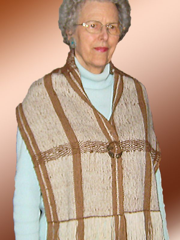 Wool Shawl or Table Runner